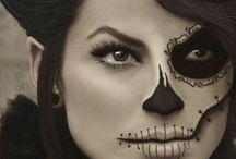 Holloween face painting / by Georgina Andrade