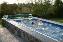endless swimming pools
