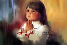 DONALD ZOLAND ART / beautiful painting children