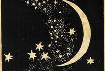 Moon / Moons and stars and space