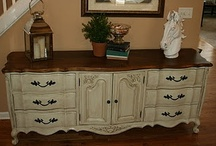 Redone Furniture Ideas / by Patricia Byrd