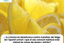 Limon / Trobaràs moltes curiositats sobre la llimona // Encontrarás muchas curiosidades sobre el limón http://nutrigame.es/