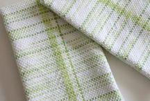 Woven dish towels / Weaving