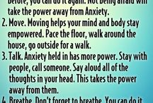 Dealing with panic attack