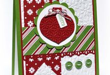 CHRISTMAS CARDS / Ideas for creating Christmas Cards / by geraldine homenchuk