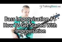Improvisation For Bass Guitar - Talking Bass Lessons / These lessons deal with improvising on bass guitar