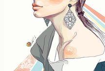 Illustrations by Ukranian digital artist Nadia