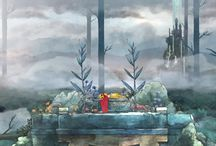 Child of Light / screenshots du jeu vidéo Child of Light