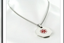 Women's Medical Necklaces / Womens medical alert necklaces