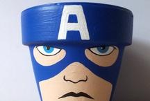 capitan america/ iron man