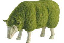 Creatieve en vrolijke schapen...