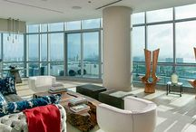FOR SALE ~ The Setai Penthouse Villa C / MAGICAL WRAPAROUND VIEWS FROM OCEAN TO SUNSET OVER CITY OF MIAMI SKYLINE!!! This Setai Penthouse is an Art Collector's Dream with 13' high ceilings, jet-plane views of the beach and city from the extra large terrace. | $12,150,000