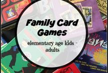 Game Play Learning / Use games to have fun and learn with your kids.  Take a break from the workbooks and try a game!