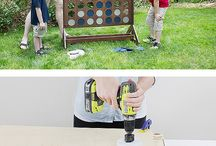 Backyard Games / DIY life sized backyard games