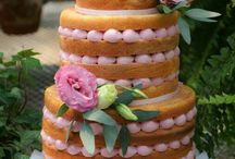 Charming naked cakes