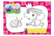 Colouring in Sheets for Kids