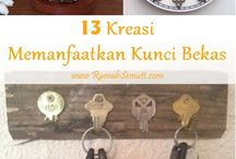 recycle kunci bekas