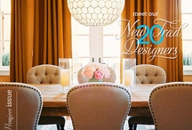allison lind's dining rooms to love / Stylish dining spaces to inspire some style of your own. / by Allison Lind