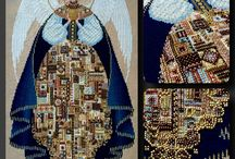Katyamihel handmade / sewing patchwork quilting embroidery cross stitch handmade шитье пэчворк квилт вышивка ручная работа