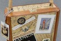 Altered Boxes / Decorating Old Boxes / by Linda Hess
