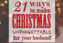 Christmas Romance / Romantic ideas for the Christmas Holiday