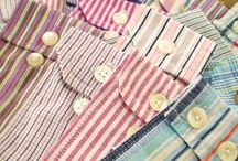 Recycle men's shirt pockets / buttons