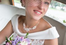 Wedding Hair Accessories / Pretty bespoke wedding hair accessories all designed and made in Hampshire.