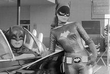 Vintage superhero