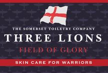 Three Lions / New men's skincare range from The Somerset Toiletry. Skincare for warriors.