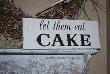 Cakes & Ice Cream / by Elaine Jefferson