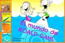 + Cuentos: Roald Dahl / 2015. Se cumplen 25 años de la muerte de Roald #Dahl, famoso escritor para niños y adultos, autor de títulos inolvidables. ¡La mejor elección para las #lecturas de vacaciones en la Biblioteca Manuel Alvar!