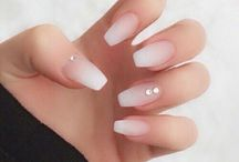 Nails ombre & French