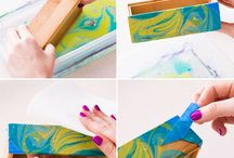 wood color+marbling