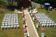 Sitio para o casamento