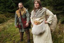 Wikinger Frau und Mann