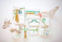 gift wrap / pretty packages tied up with string / by Kadee Gray