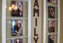 Frames, wall decoration