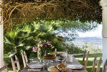 Beach/earthy restaurant ideas