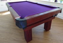 Our Colour 2 - Luxury Pool Tables / A selection of our Pool Tables in various styles and wood types, all finished in Wood Colour 2