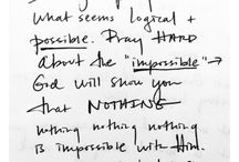 God / Prayer - Love - Hope - Faith - Jesus - Christ - Cross - More - Peace - Devotion - Fear - GOD.