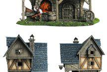 modell bygninger