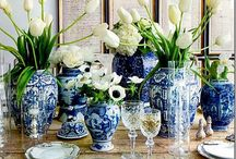 CHINESE PORCELAIN-BLUE AND WHITE