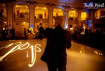Dance Floors /  Shipley Enterprises specializes in unique event decor and design such as lighting, drapes, dance floors, gobos, chuppahs, chandeliers, and more