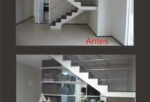 Decoração escadaria