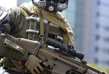 Cyborg / Humanoid Robot / SciFi Soldier