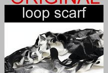 Scarf outfit / Scarves, neck warmers, loop scarf, shawls, infinity scarves and fashion