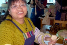 "Hearts and Hands ~ China / In Yunnan Province, China, men and women with disabilities develop new skills and earn income through employment as artisans with Hearts & Hands. Those who are deaf or otherwise physically limited—who previously found little prospect for survival—now realize ""plans that will prosper and not harm them, plans for a hope and a future.""  / by WorldCrafts"