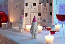 Идеи декорирования праздничного стола к праздникам / украшение стола к празжнику, новый год