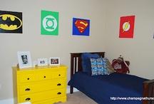 Cole's Super Hero Room Ideas!