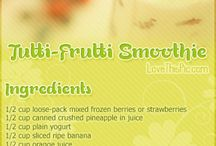 Smoothies / by Tiffani Black